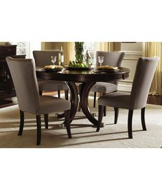 Round Wood Kitchen Table Sets Custom dining 60 round pedestal table by bassett furniture living loved it dream furniture teak wood 4 seater luxury round dining table set brown httpsnapdealproductdream furniture teak wood 4640567347166 workwithnaturefo