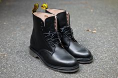 Old School... DR MARTENS Jeffrey 8-Eye Boot - Black | Boot | Kith NYC ($180.00) - Svpply