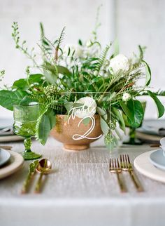 Modern Greenery Styled Shoot | Best Wedding Blog
