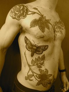 moth  by lyam, my hubs would look good with something like this!