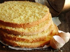 Tasty pudding sponge cake (in Polish) British Bake Off Recipes, Great British Bake Off, Holiday Desserts, Holiday Baking, Cakes Made With Oil, How To Make Cake, Food To Make, Easy Blueberry Muffins, Sponge Cake Recipes