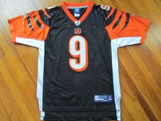 b32af6b12 ... Youth Large 14-16 NFL Cincinnati Bengals 9 Carson Palmer Mesh Reebok  Jersey ...