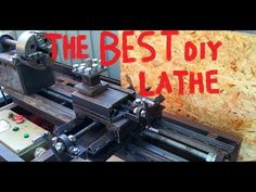 Here is my lathe that I made for my hobbies. i hope you guys like it