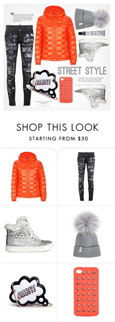 """Street Style"" by fancy-chic ❤ liked on Polyvore featuring Marmot, Dsquared2, Sophia Webster and 4WE"