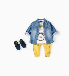 SHOP BY LOOK-BABY BOY | 3 months - 4 years-KIDS | ZARA United States