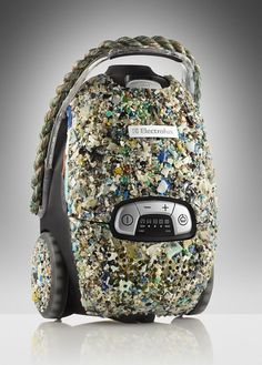 Green vacuum cleaners made from plastic collected from the ocean. Seriously.