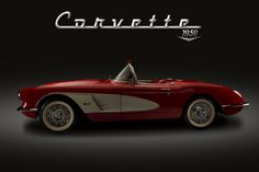 1959 Vette by Bryon Wiley, via 500px