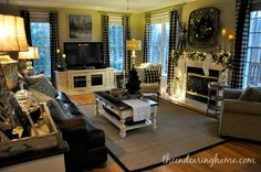 A beautifully designed family room! - A beautifully designed family room! The Endearing Home – Holiday - Family Room Design, Home, Room Renovation, Family Room, Country Decor, Great Rooms, New Homes, Room, Room Design