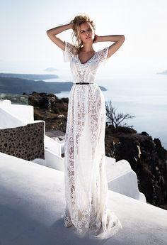 Featured Wedding Dress: Oksana Mukha; www.oksana-mukha.com/; Wedding dress idea.