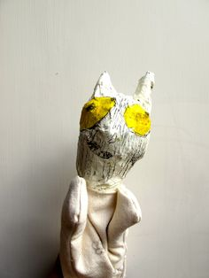 Where The Wild Things Are inspired paper mache puppets, by Follow the Silver Bird kids puppet workshops.