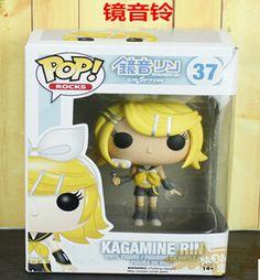 2015 l'arrivée de nouveaux Funko Pop Rocks Kagamine Rin VOCALOID 2 10 cm jouets en vinyle PVC Action Figure brinquedos livraison gratuite T3251