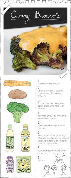 Creamy Broccoli Recipe by The Vegan Stoner