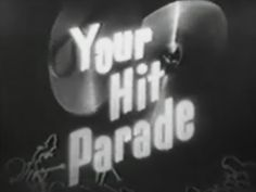 Your Hit Parade 3 DVD TV SET (1950) | Classic Movies and TV