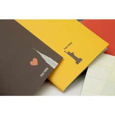 City Notebook Set - NYC - Eco-friendly