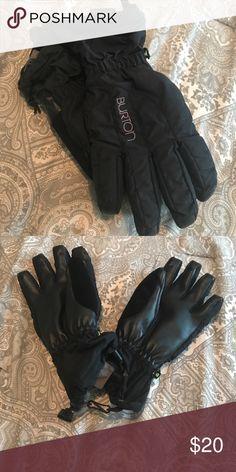 Burton ski/snowboarding/snow gloves. Waterproof Black women's burton waterproof gloves Burton Accessories Gloves & Mittens