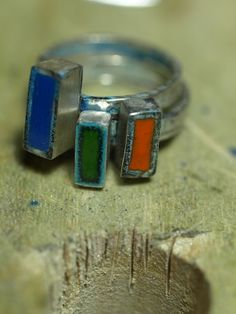Stacked Rings Wanderluster Dreams Handcrafted Jewelry By Unny K