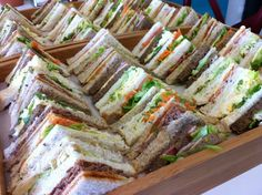 Brunch - Sandwich Platters More