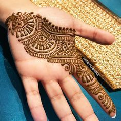 Highlight from today's Henna Party DM or amritahenna@gmail.com to book your Events with me! #orlandohenna #henna #hennaorlando… Indian Henna Designs, Full Hand Mehndi Designs, Mehndi Designs Book, Modern Mehndi Designs, Mehndi Designs For Girls, Mehndi Designs For Beginners, Wedding Mehndi Designs, Mehndi Designs For Fingers, Latest Mehndi Designs