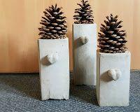 Weihnachtsdeko Aus Beton. Anleitung U0026 Idee Von Ettekunst.de Und Auf Meinem  Blog: