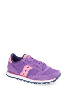 Saucony 'Jazz - Low Pro' Sneaker (Women) Purple/ Pink/ Navy Size 9 M - $53 on Vein - getvein.com