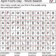 april fools activities easy ans