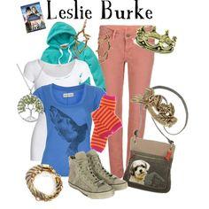 Leslie Burke - Bridge to Terabithia, created by marybethschultz on Polyvore