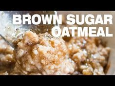Brown Sugar Oatmeal, healthier and will get you motivated in the morning. 5 mins to prepare, effortless and full of comforting flavors. You don't need another breakfast porridge! how to make brown sugar oatmeal from scratch easily with cinnamon. Brown Sugar Oatmeal, Make Brown Sugar, Cinnamon Oatmeal, How To Make Brown, Oatmeal Porridge, Breakfast Porridge, Healthy Oatmeal Recipes, How To Make Breakfast, Easy Meals