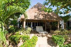 Palapa at Las Casita #8 at Las Casitas Akumal rental villa on Riviera Maya
