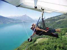 Hang Gliding in Switzerland.  Do it.  #JetsetterCurator
