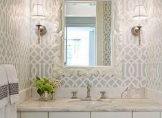 Imperial Trellis Bathroom