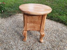 Reclaimed legs made into stool