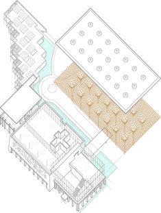 Gallery of Nine Bridges Country Club / Shigeru Ban Architects - 18