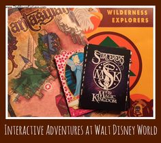 Play fun Interactive Adventure Activities in Walt Disney World theme parks. Lion Guard, Agent P, Wilderness Explorers, A Pirate's Adventures or Sorcerers of the Magic Kingdom.
