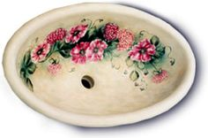 Attrayant Hand Painted Sink | Unusual Bathrooms | Pinterest | Hands, Hand Painted And  Sinks