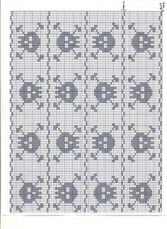 Gráficos gratuitos Filet Crochet Alfabético | Crochet - Filet