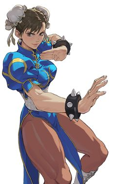Street Fighter, Chun-li, by loped
