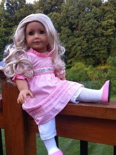 Caroline Abbott Historical American Girl Doll from the War of 1812