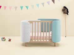 Plywood cot SOFTLY Softly Collection by DOTANDCROSS™