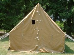 canvas wall tent