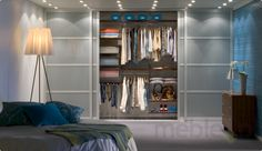 Zestaw: Praktyczne przechowywanie w garderobie Classic Platinum, Elfa - Akcesoria