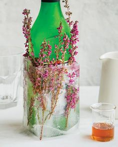 DIY Bottle Chiller - Love the premise. Would do well with multiple bottles of water.