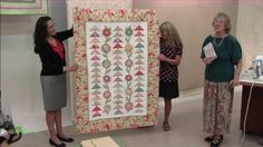 Geese in the Garden Quilt--n what size square to use with flying geese ruler