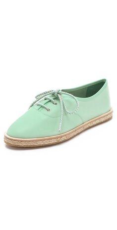 mint espadrille tennis shoes