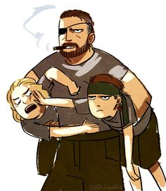 Don't we all want to see Big Boss in dad mode?