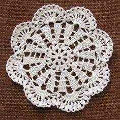 Coaster - crochet