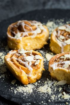 Soft, fluffy and sweet, these cinnamon rolls … Vegan Sweet Potato Cinnamon Rolls. Soft, fluffy and sweet, these cinnamon rolls are perfect for a more indulgent breakfast! Vegan Sweet Potato Recipes, Vegan Breakfast Recipes, Vegan Recipes, Eat Breakfast, Breakfast Healthy, Breakfast Ideas, Healthy Eating, Sweet Potato Cinnamon, Vegan Cinnamon Rolls