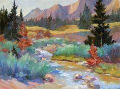 "Daily Paintworks - ""Meadow Lark"" - Original Fine Art for Sale - © Sharon Lynn Williams"