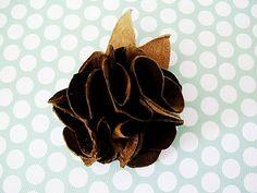 leather flower tutorial