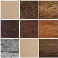 Faux Wood Beam Color and Texture - Sample
