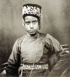 Boy from the caste of scribes, Bengal, about 1856